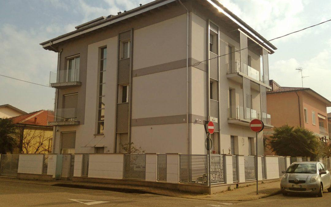 Ristrutturazione di palazzina residenziale