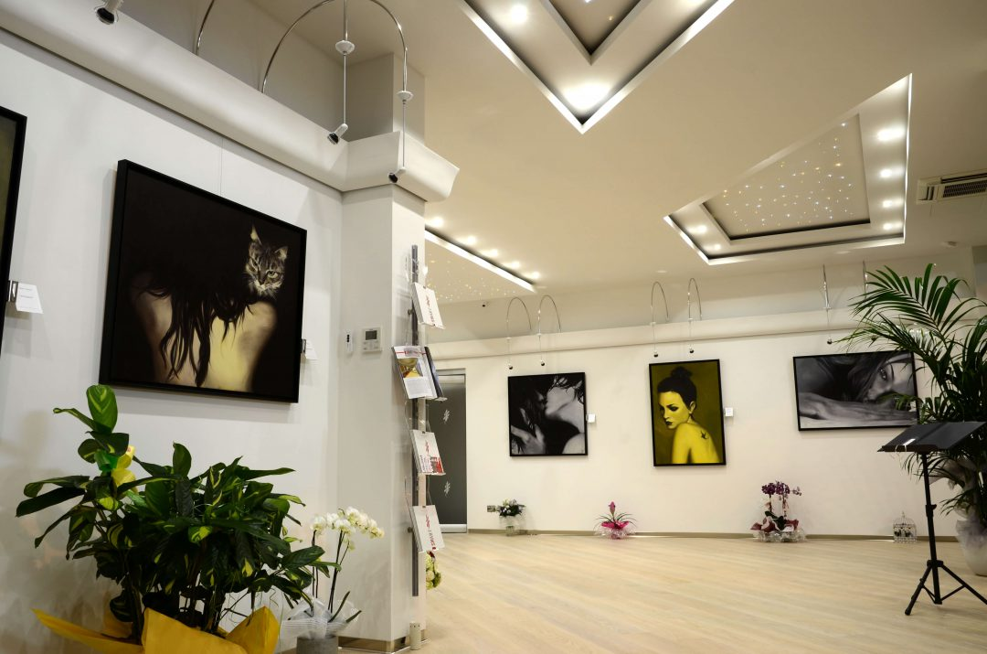 Atelier and Art Gallery design